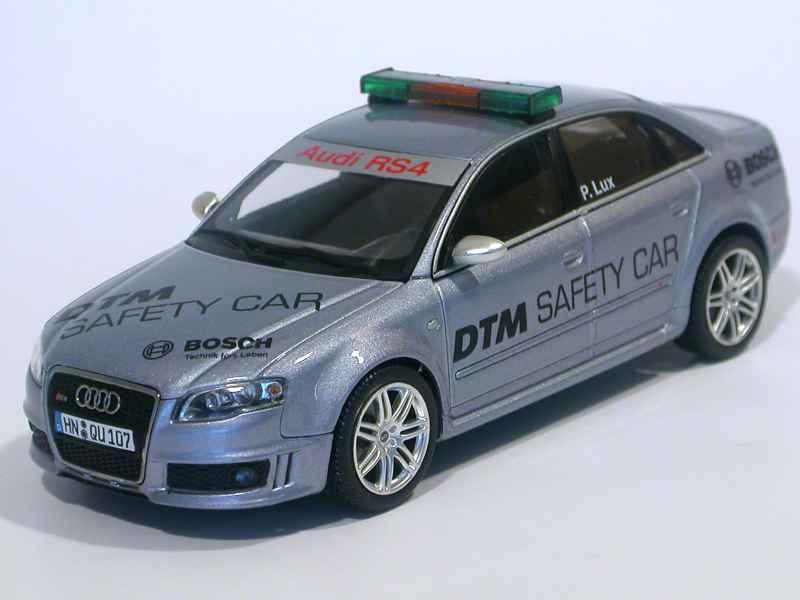audi rs4 dtm safety car 2005 minichamps 1 43 autos miniatures tacot. Black Bedroom Furniture Sets. Home Design Ideas