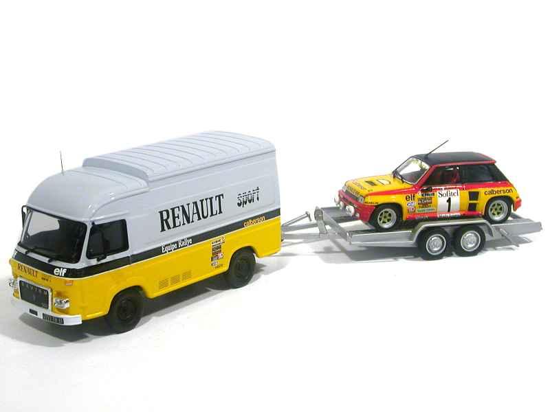 saviem sg2 r 5 turbo calberson ixo 1 43 autos miniatures tacot. Black Bedroom Furniture Sets. Home Design Ideas
