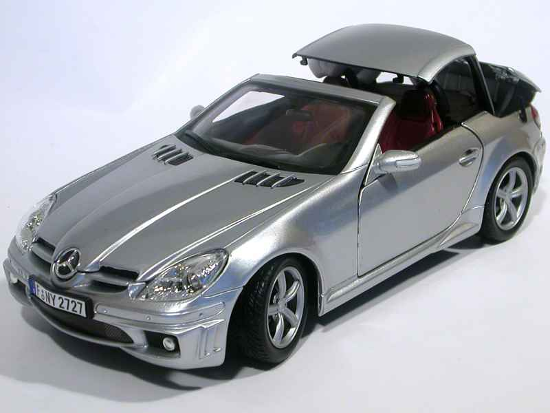 mercedes slk 55 amg r171 2005 motor max 1 18. Black Bedroom Furniture Sets. Home Design Ideas