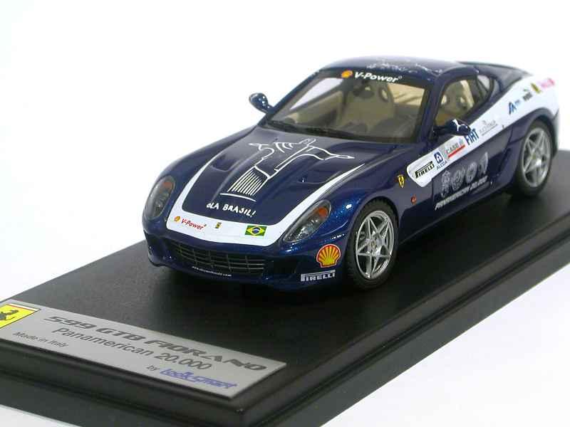 ferrari 599 gtb panamerican 2006 looksmart 1 43 autos miniatures tacot. Black Bedroom Furniture Sets. Home Design Ideas
