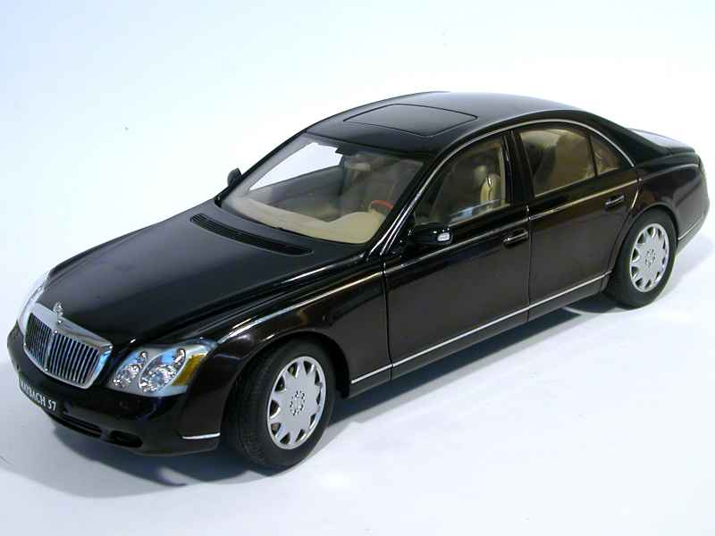 maybach 57 berline 2002 autoart 1 18 autos miniatures tacot. Black Bedroom Furniture Sets. Home Design Ideas