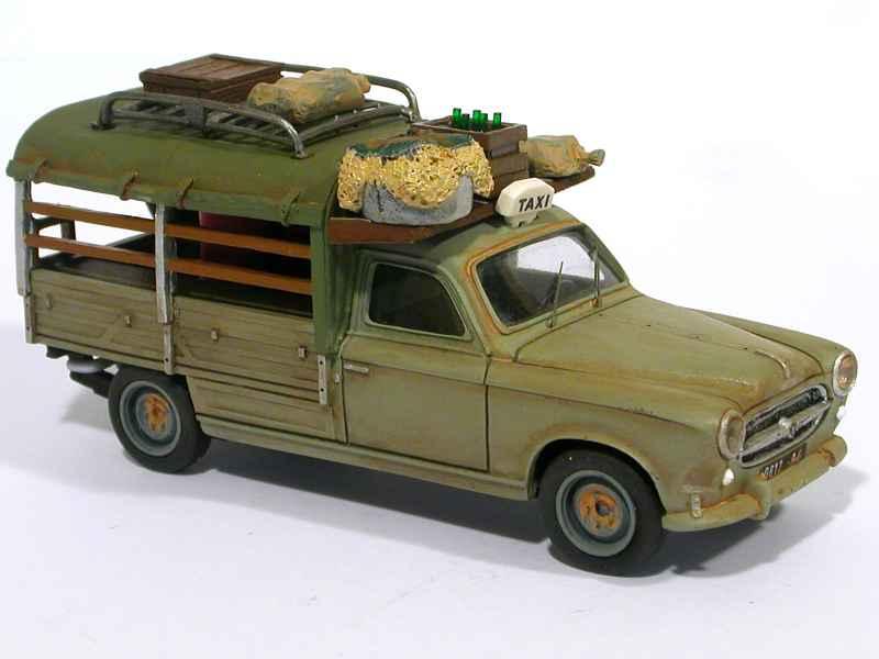 peugeot 403 pick up bach taxi brousse elys e 1 43. Black Bedroom Furniture Sets. Home Design Ideas