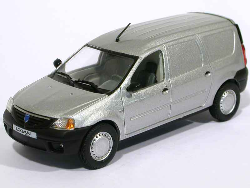 renault dacia logan fourgon 2007 eligor 1 43 autos miniatures tacot. Black Bedroom Furniture Sets. Home Design Ideas