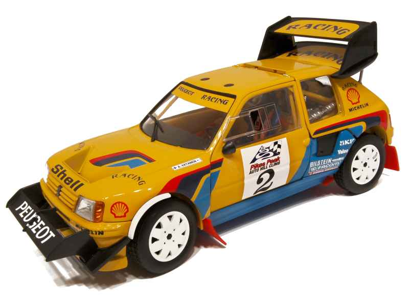 peugeot 205 t16 pikes peak 1987 solido 1 18 autos miniatures tacot. Black Bedroom Furniture Sets. Home Design Ideas