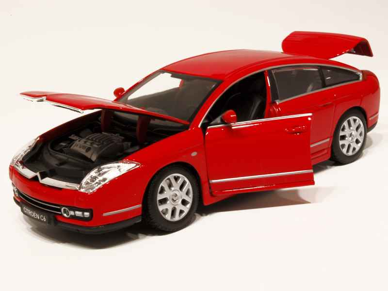 citro n c6 2005 burago 1 20 autos miniatures tacot. Black Bedroom Furniture Sets. Home Design Ideas