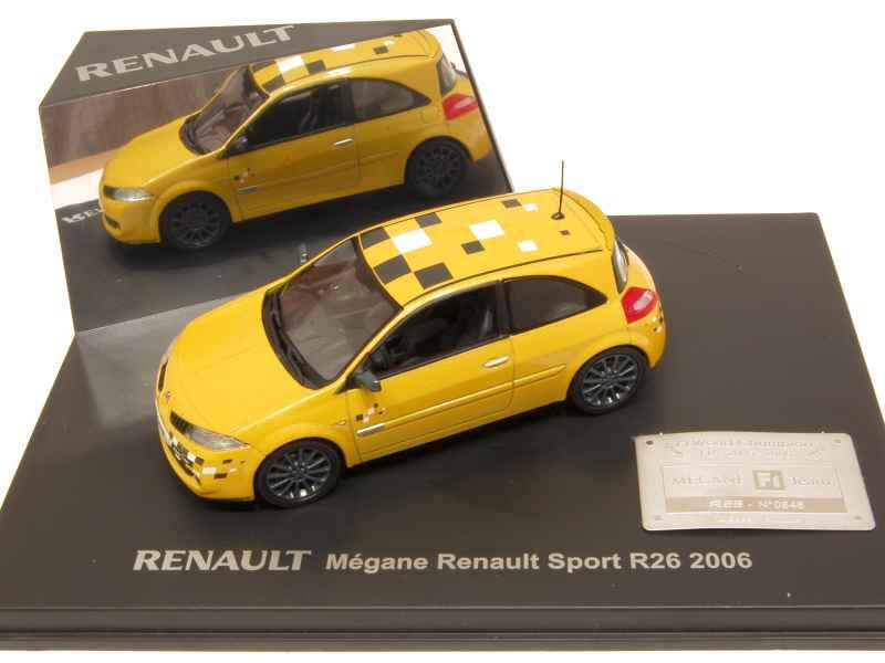 renault m gane ii rs f1 team r26 2006 universal hobbies 1 43 autos miniatures tacot. Black Bedroom Furniture Sets. Home Design Ideas