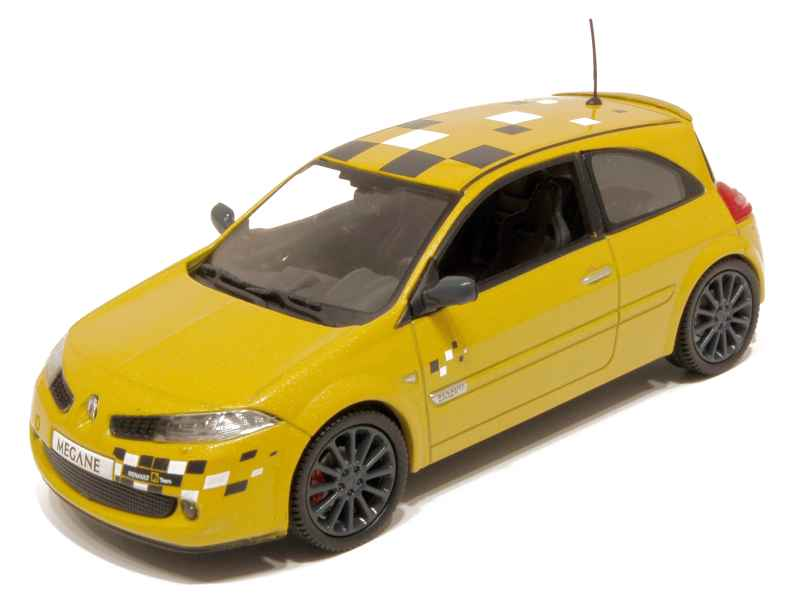 renault m gane ii rs f1 team r26 2006 universal hobbies 1 43 autos miniatures tacot. Black Bedroom Furniture Sets. Home Design Ideas