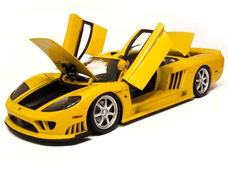 Saleen s7 twin turbo motor max 1 12 autos miniatures tacot