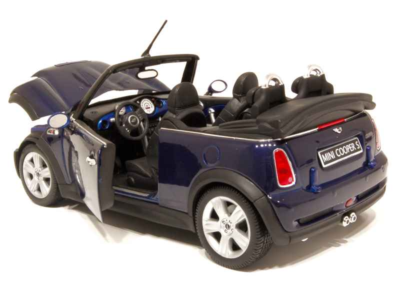 mini cooper s cabriolet welly 1 18 autos miniatures tacot. Black Bedroom Furniture Sets. Home Design Ideas