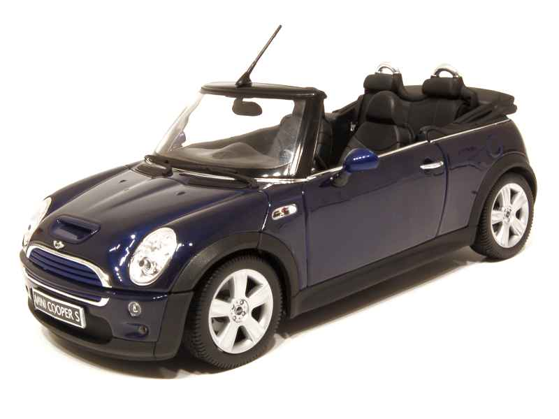 mini cooper s cabriolet welly 1 18 autos. Black Bedroom Furniture Sets. Home Design Ideas