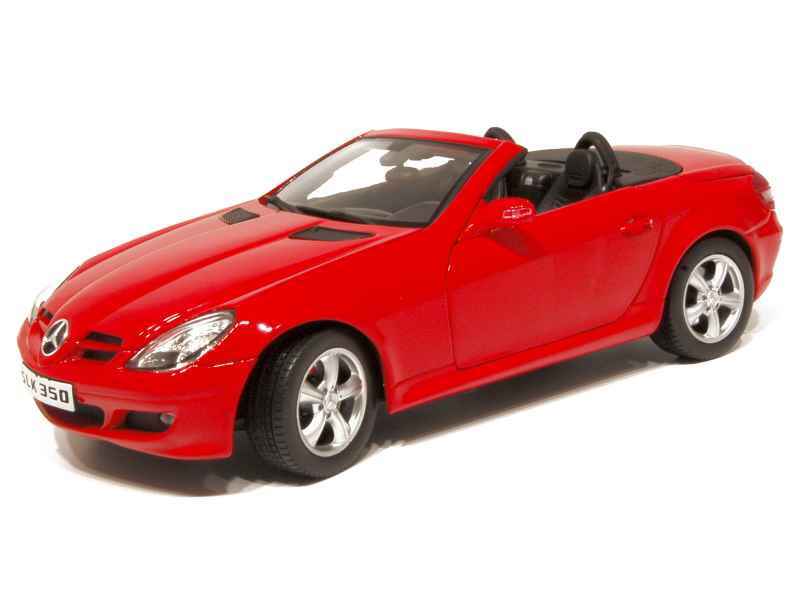 mercedes slk 350 r171 2004 welly 1 18 autos miniatures tacot. Black Bedroom Furniture Sets. Home Design Ideas