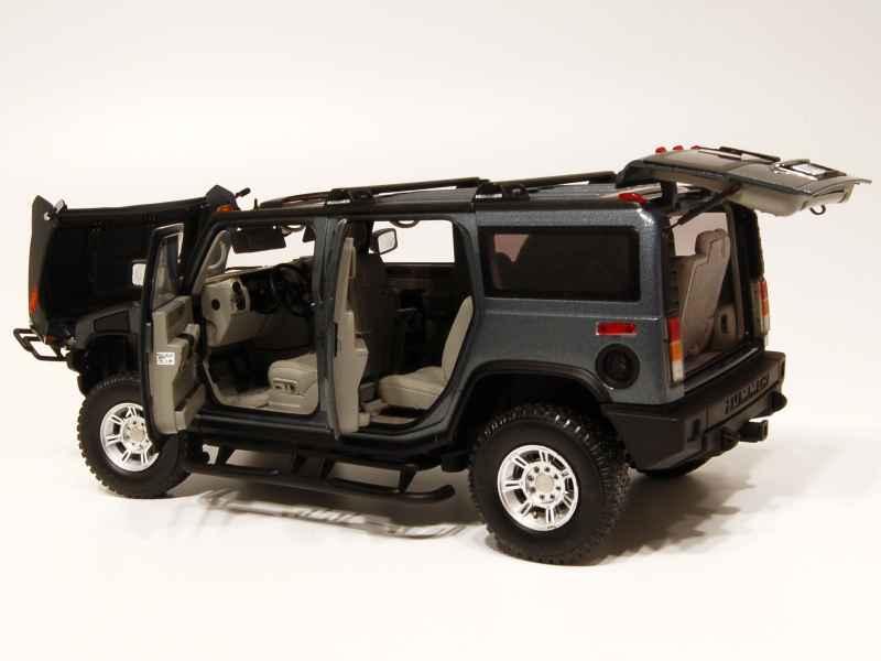 hummer h2 2005 highway 61 1 18 autos miniatures tacot. Black Bedroom Furniture Sets. Home Design Ideas