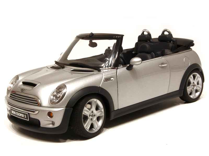 mini cooper s cabriolet 2004 autoart 1 18 autos miniatures tacot. Black Bedroom Furniture Sets. Home Design Ideas