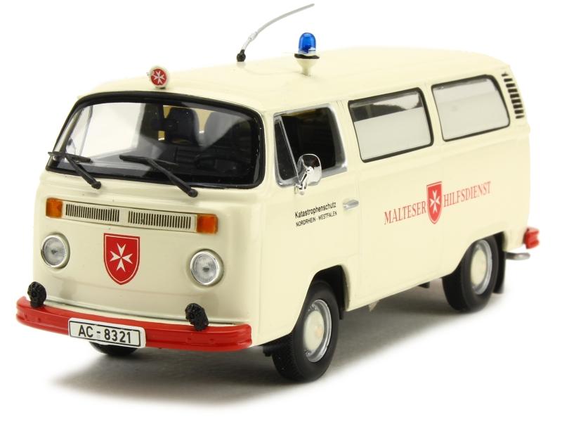volkswagen combi t2 fourgon minichamps 1 43 autos miniatures tacot. Black Bedroom Furniture Sets. Home Design Ideas