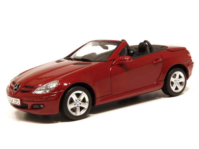 mercedes slk class r171 2004 minichamps 1 43 autos miniatures tacot. Black Bedroom Furniture Sets. Home Design Ideas