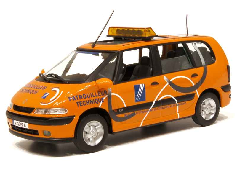 renault espace iii d d e 2001 universal hobbies 1 43 autos miniatures tacot. Black Bedroom Furniture Sets. Home Design Ideas
