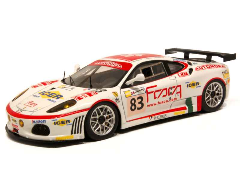 ferrari f430 gt le mans 2007 red line models 1 43 autos miniatures tacot. Black Bedroom Furniture Sets. Home Design Ideas