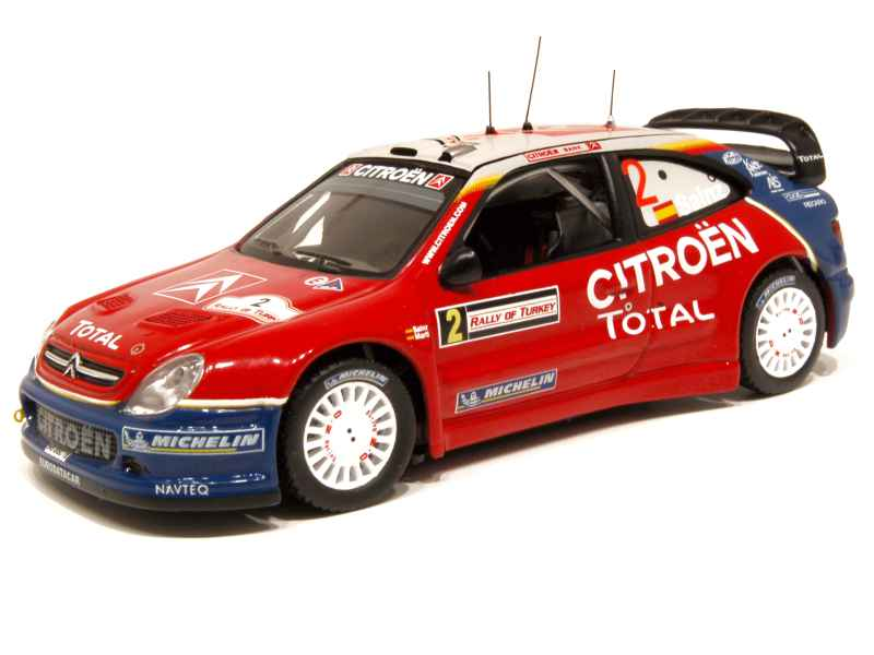 52844 Citroën Xsara WRC Rally Turkey 2005