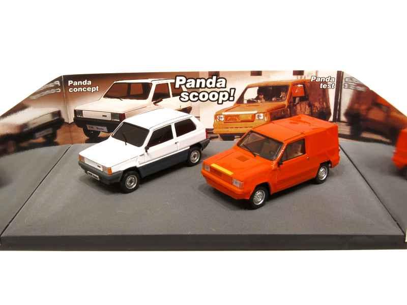 Fiat Panda Torino 1979 Brumm 1 43 Autos Miniatures