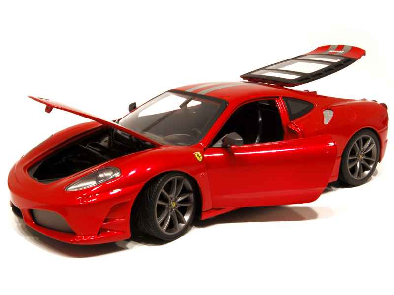ferrari f430 scuderia 2007 hot wheels 1 18 autos miniatures tacot. Black Bedroom Furniture Sets. Home Design Ideas
