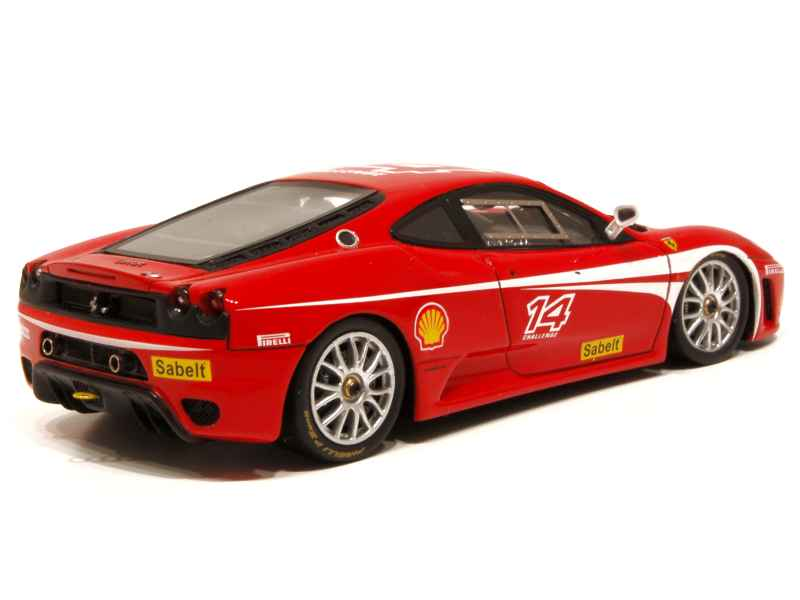ferrari f430 challenge red line models 1 43 autos miniatures tacot. Black Bedroom Furniture Sets. Home Design Ideas