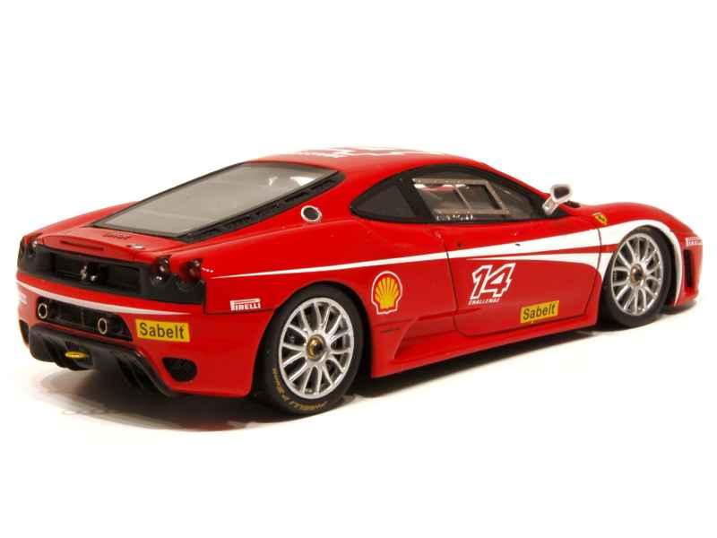 ferrari f430 challenge red line models 1 43 autos miniatures tacot. Black Bedroom Furniture Sets. Home Design Ideas