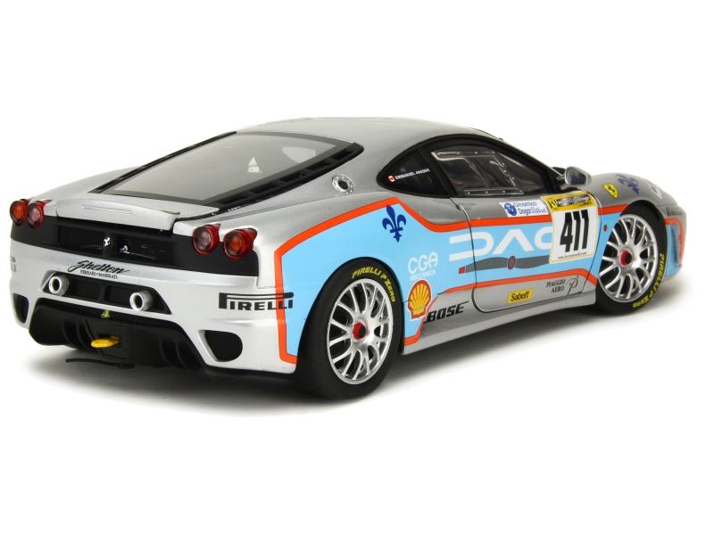 ferrari f430 challenge 2006 elite 1 18 autos miniatures tacot. Black Bedroom Furniture Sets. Home Design Ideas