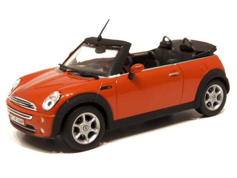 mini cooper cabriolet cararama 1 43 autos miniatures tacot. Black Bedroom Furniture Sets. Home Design Ideas