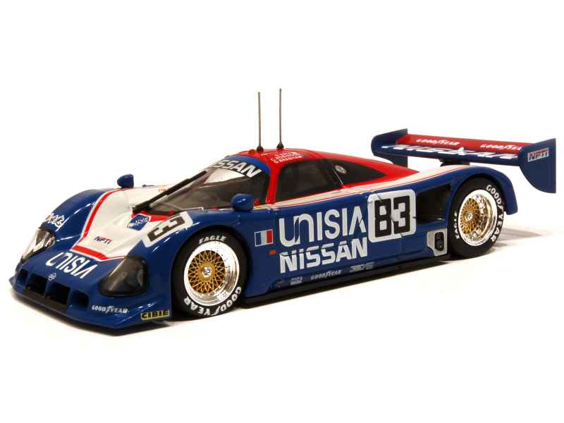nissan r90ck le mans 1990 q model 1 43 autos miniatures tacot. Black Bedroom Furniture Sets. Home Design Ideas