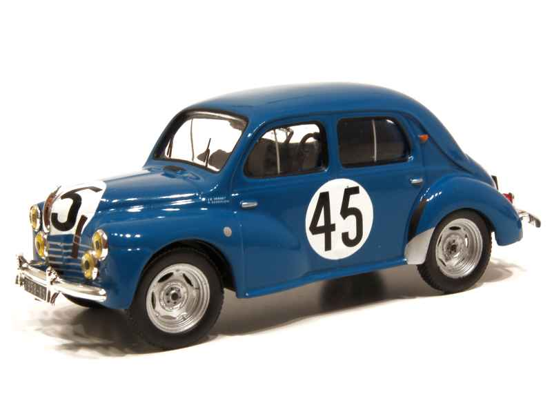 renault 4cv le mans 1950 ixo 1 43 autos miniatures tacot. Black Bedroom Furniture Sets. Home Design Ideas