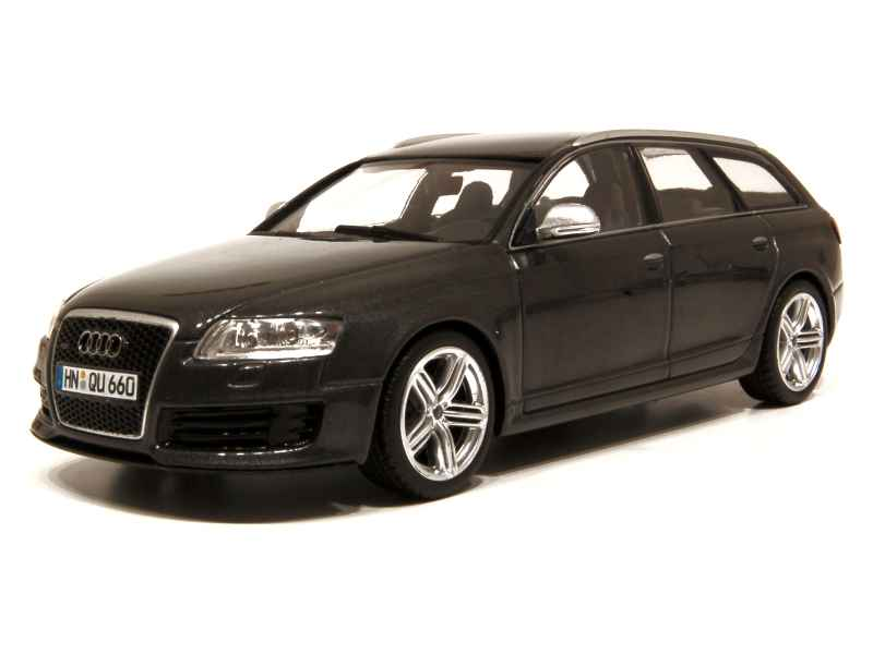 audi rs6 avant 2008 minichamps 1 43 autos. Black Bedroom Furniture Sets. Home Design Ideas