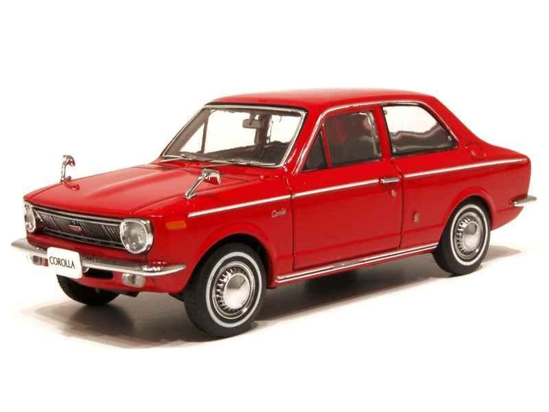 Toyota Corolla Le >> Toyota - Corolla 1100 1966 - Ebbro - 1/43 - Autos Miniatures Tacot