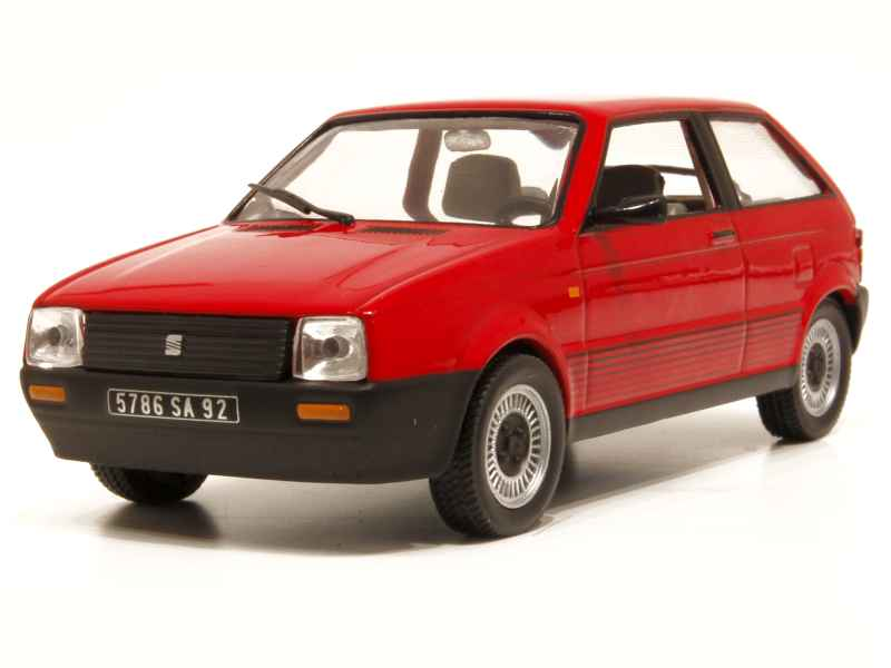 seat ibiza 3 doors 1984 mod le presse al 1 43 autos miniatures tacot. Black Bedroom Furniture Sets. Home Design Ideas