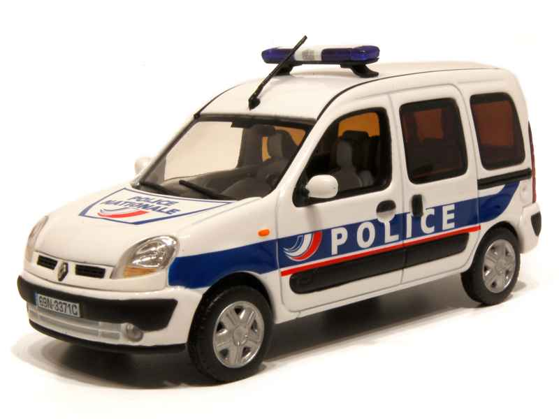 renault kangoo phase ii police 2008 norev 1 43 autos miniatures tacot. Black Bedroom Furniture Sets. Home Design Ideas
