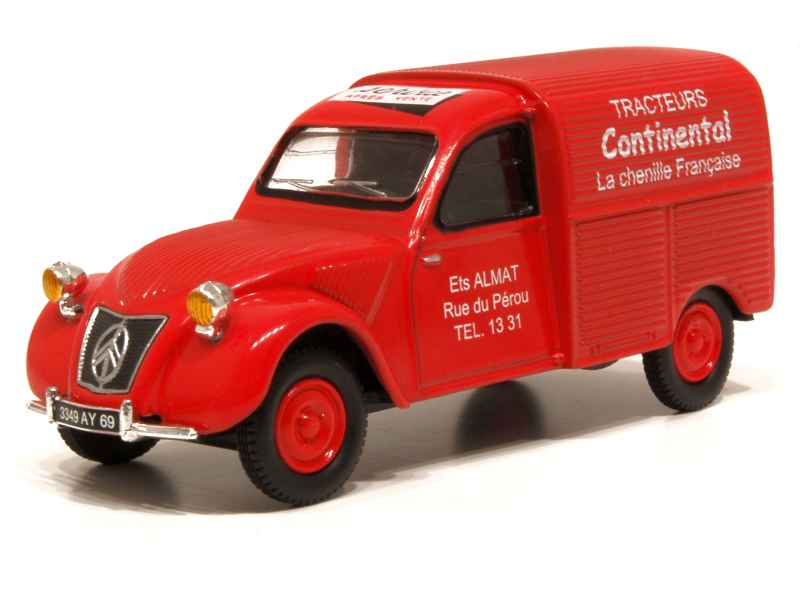 2cv fourgonnette miniature