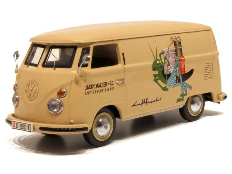 volkswagen combi t1 fourgon schuco 1 43 autos miniatures tacot. Black Bedroom Furniture Sets. Home Design Ideas