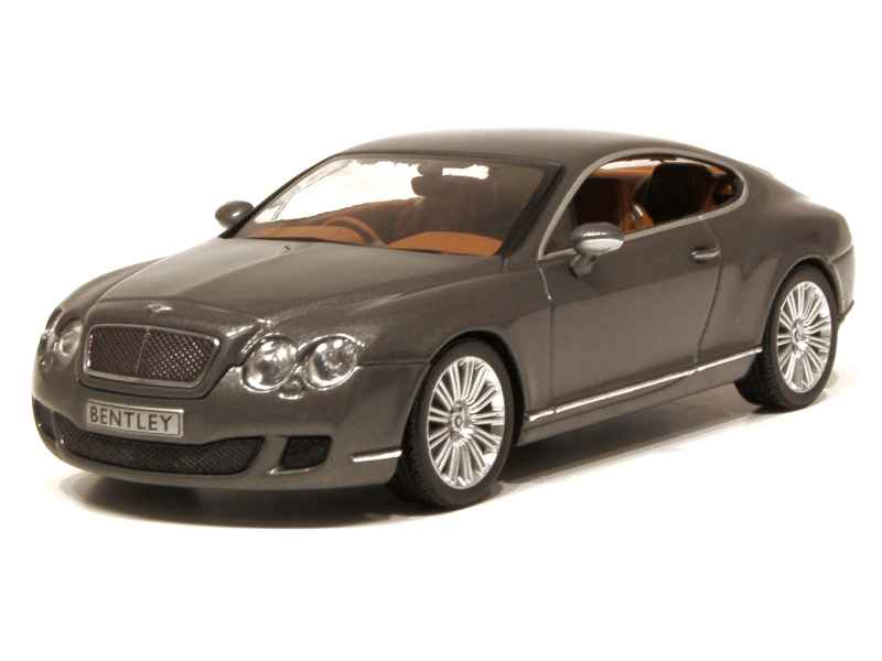 bentley continental gt speed 2008 minichamps 1 43. Black Bedroom Furniture Sets. Home Design Ideas