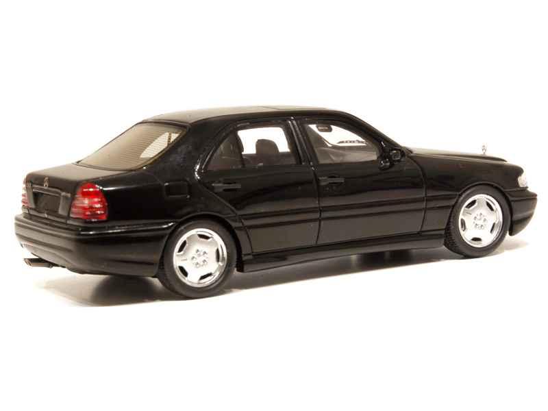 mercedes c43 amg 2000 spark model 1 43 autos miniatures tacot. Black Bedroom Furniture Sets. Home Design Ideas
