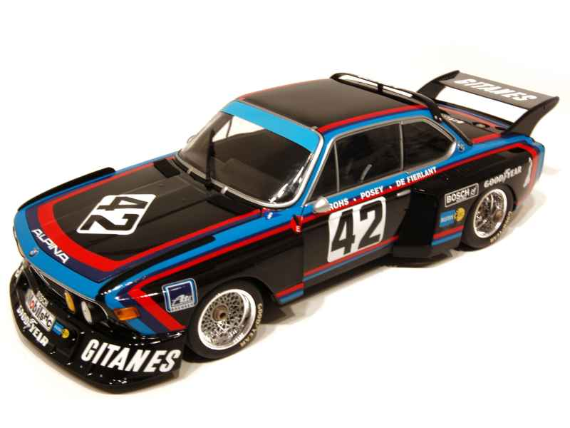 Bmw 3 5 Csl Gr5 E09 Le Mans 1976 Minichamps 1 18 Autos Miniatures Tacot