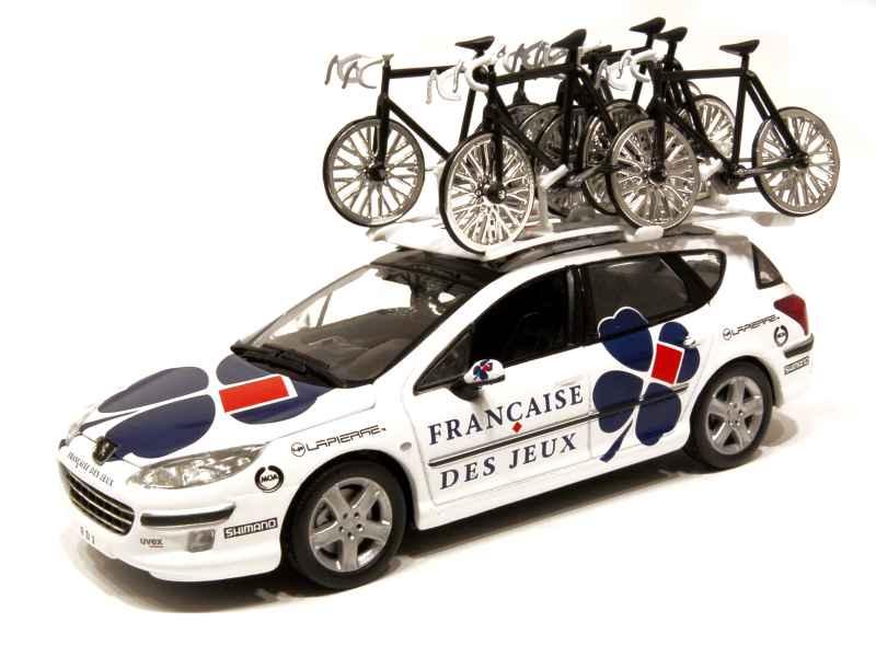 Peugeot 407 Sw Tour De France Norev 1 43 Autos