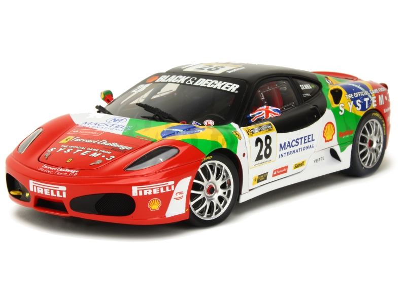 ferrari f430 challenge 2007 elite 1 18 autos miniatures tacot. Black Bedroom Furniture Sets. Home Design Ideas