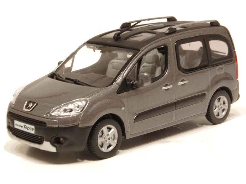 peugeot partner tepee vitr 2008 norev 1 43 autos miniatures tacot. Black Bedroom Furniture Sets. Home Design Ideas
