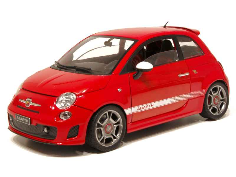 fiat 500 abarth 2008 mondo motors 1 18 autos miniatures tacot. Black Bedroom Furniture Sets. Home Design Ideas