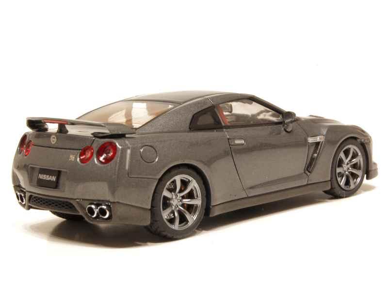 nissan gt r black edition 2008 ebbro 1 43 autos miniatures tacot. Black Bedroom Furniture Sets. Home Design Ideas