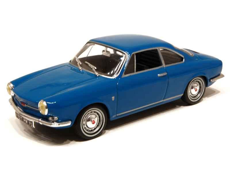 Simca 1000 coup bertone 1964 mod le presse al 1 43 autos miniatures tacot - Simca 1000 coupe bertone occasion ...