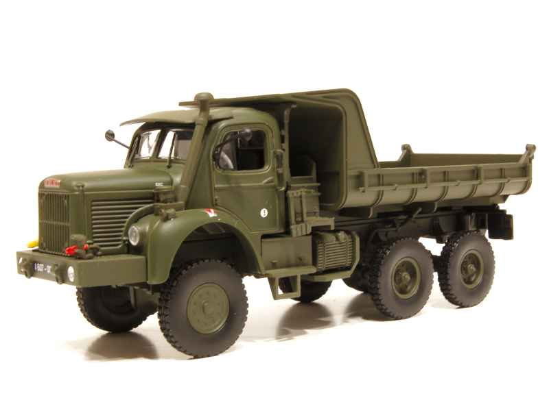 berliet gbc 8 6x6 benne militaire 1958 norev 1 43 autos miniatures tacot. Black Bedroom Furniture Sets. Home Design Ideas