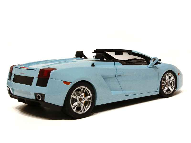 lamborghini gallardo spyder 2006 norev 1 18 autos. Black Bedroom Furniture Sets. Home Design Ideas