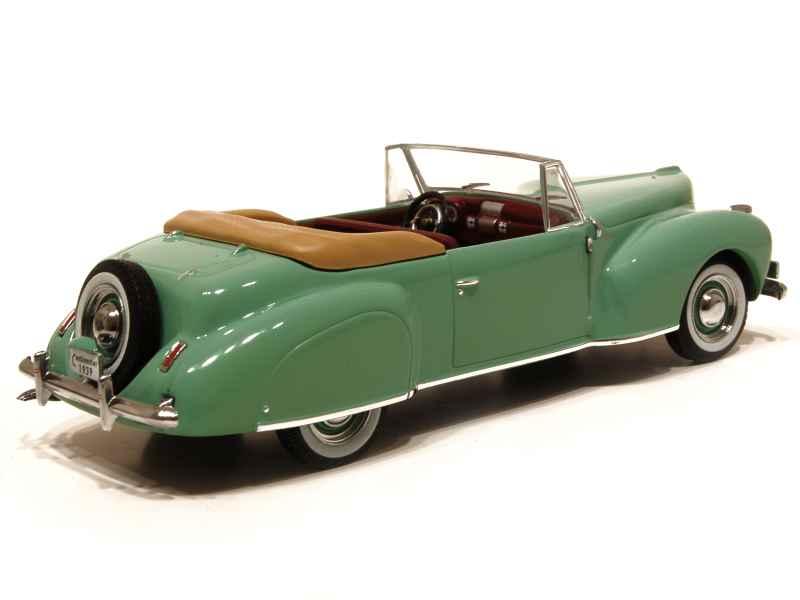 lincoln continental cabriolet 1939 ixo 1 43 autos miniatures tacot. Black Bedroom Furniture Sets. Home Design Ideas