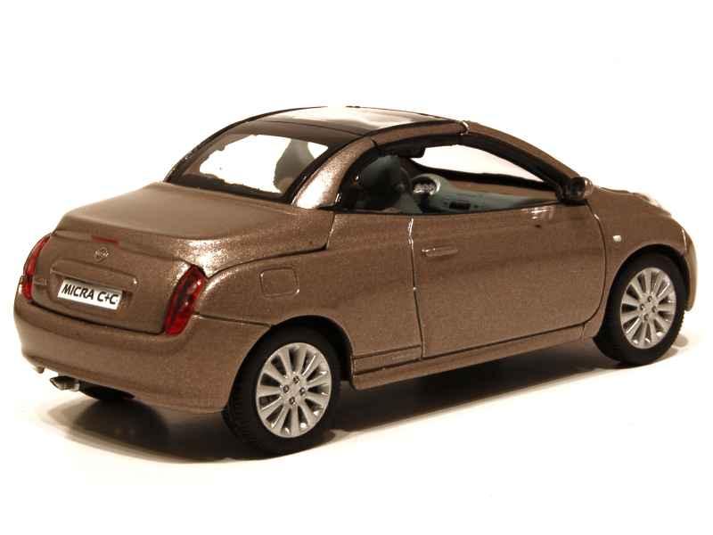 Nissan micra cc norev 1 43 autos miniatures tacot for Nissan micra cc