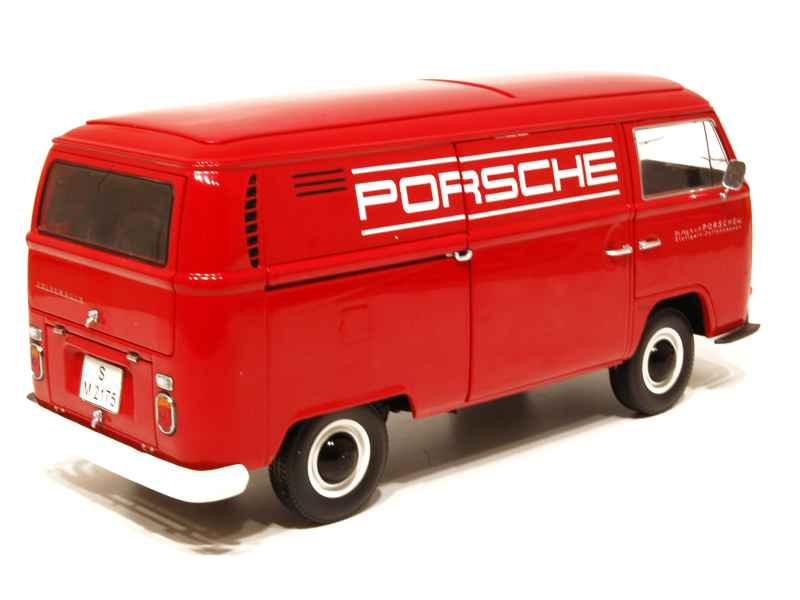 volkswagen combi t2a porsche schuco 1 18 autos miniatures tacot. Black Bedroom Furniture Sets. Home Design Ideas